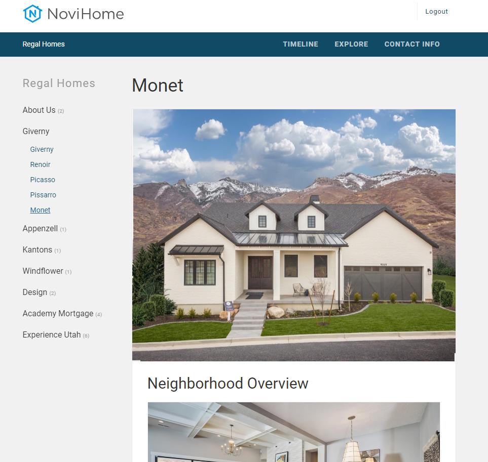 NoviHome App.